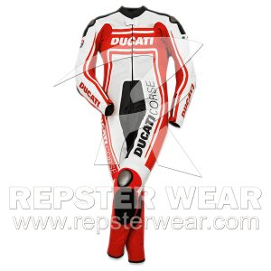 Ducati Motorbike leather suit women's