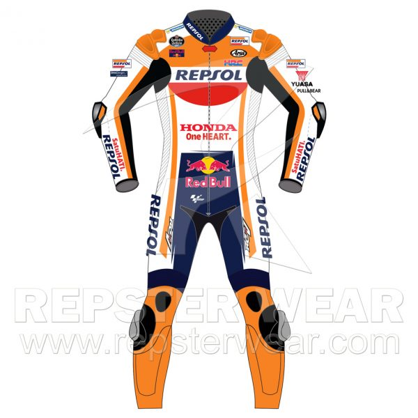 Marc Marquez Leather suit