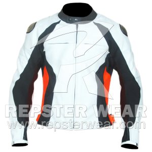 C4 Motorbike Leather Jacket