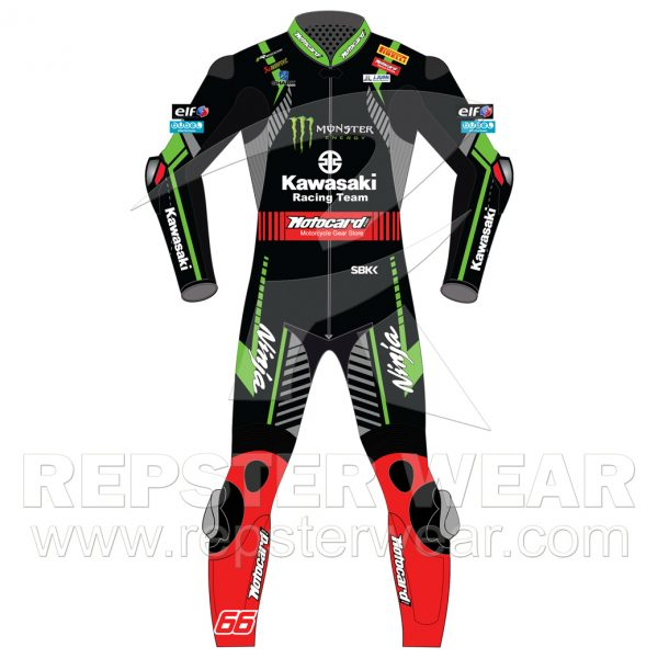 Tom+Sykes-Motogp-Motorbike-Racing-Leather-Suit