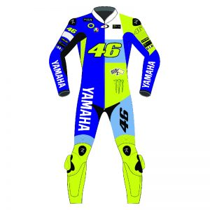 Valentino Rossi MotoRanch Motorcycle Racing Leather Suit