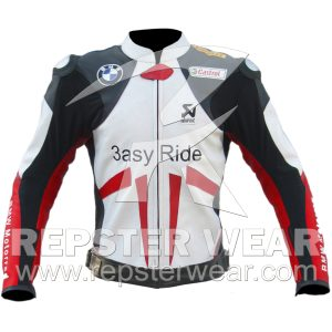 BMW Motorbike Racing Leather Jacket