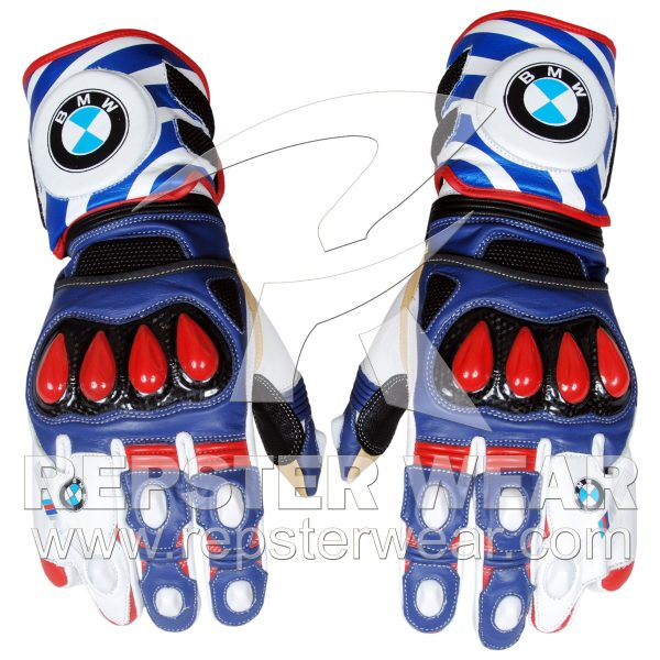 BMW Motorrad Racing Leather Gloves