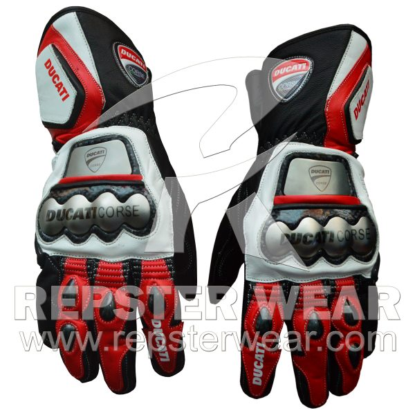Ducati Leather Gloves