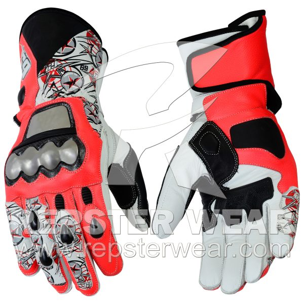 Nicky Hayden Motorbike Racing Gloves