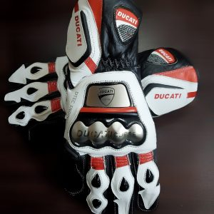 Ducati Motorbike Leather Gloves 2019