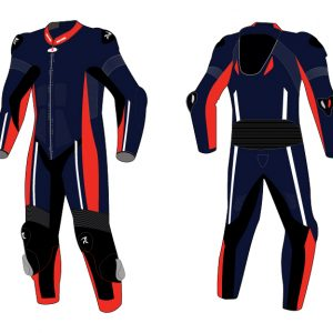 Motorcycle Racing Leather Suit C3 -Repsters Custom Motorcycle Suit