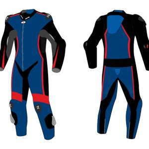 Motorcycle Racing Leather Suit C4 -Repsters Custom Motorcycle Suit