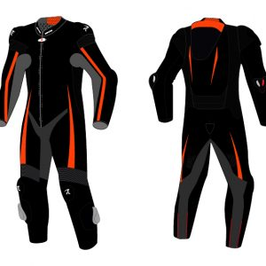 Motorcycle Racing Leather Suit C5 -Repsters Custom Motorcycle Suit