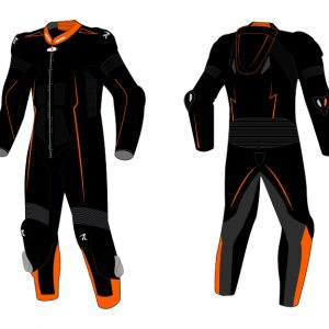 Motorcycle Racing Leather Suit C7 -Repsters Custom Motorcycle Suit