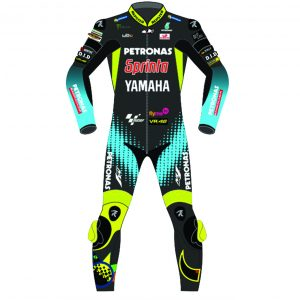 Valentino Rossi Petronas Motorcycle Racing Leather Suit 2021