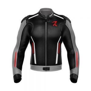 REPSTER R12 MOTORBIKE RACING LEATHER JACKET